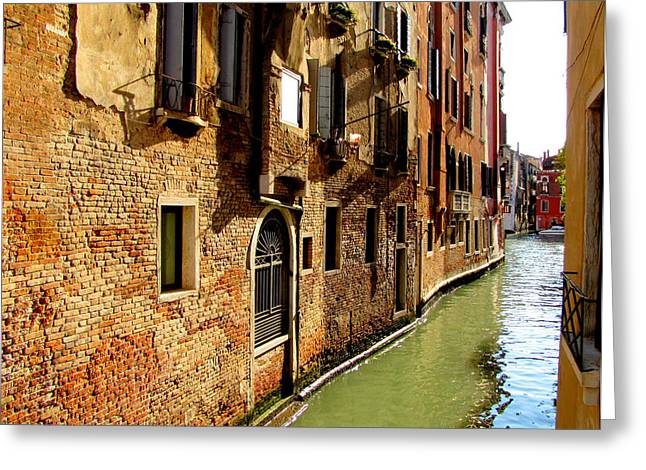 Greeting Card featuring the photograph Venice by Barbara Walsh