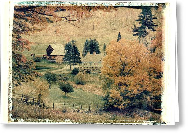 Vermont Farm Greeting Card