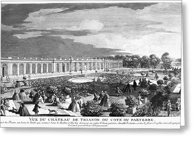 Versailles: Grand Trianon Greeting Card by Granger