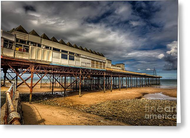 Victoria Pier Greeting Card by Adrian Evans