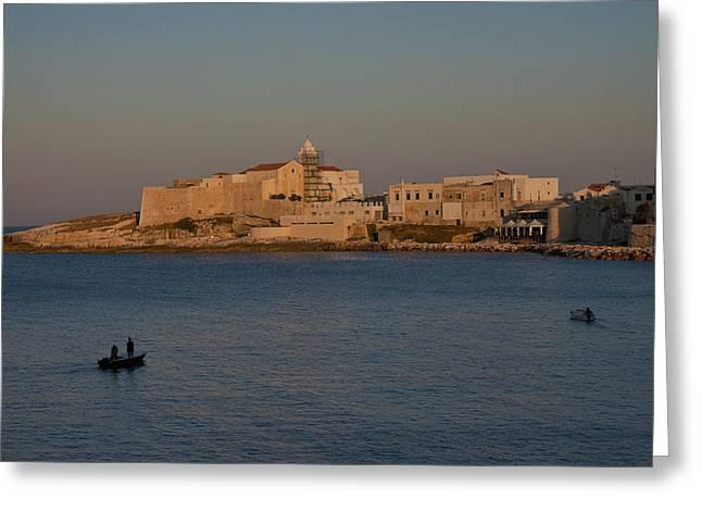 Vieste - Gargano - Apulia Greeting Card by Joana Kruse