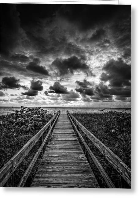 Walkway To Tomorrow Greeting Card