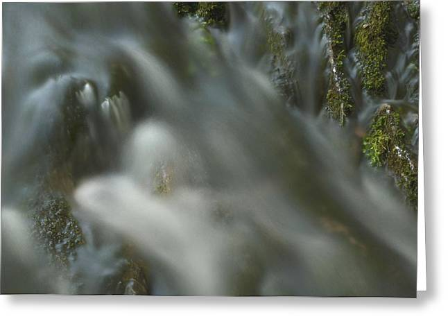 Water Movement Detail 15 Greeting Card by Stephen  Vecchiotti