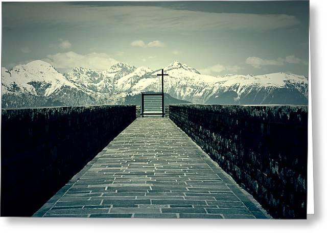 Way To Heaven Greeting Card by Joana Kruse