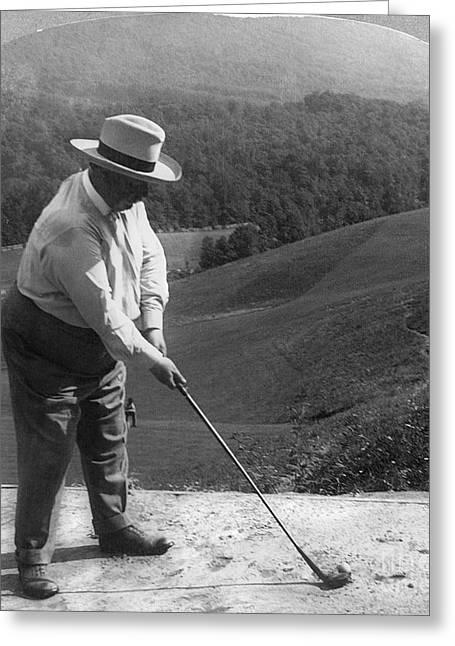 William Howard Taft Greeting Card by Granger