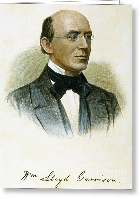 William Lloyd Garrison Greeting Card