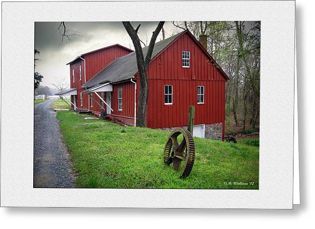 Williston Mill Greeting Card by Brian Wallace