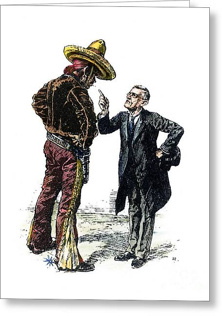 Wilson & Mexico, 1913 Greeting Card by Granger