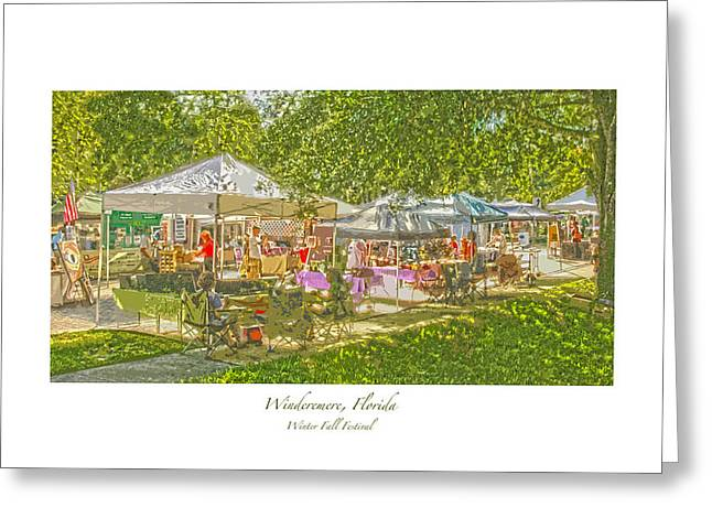 Windermere Fall Festival Greeting Card