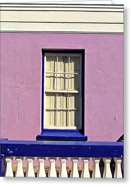 Windows Of Bo-kaap Greeting Card by Benjamin Matthijs