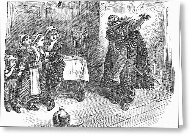 Witch Trial: Tituba, 1692 Greeting Card