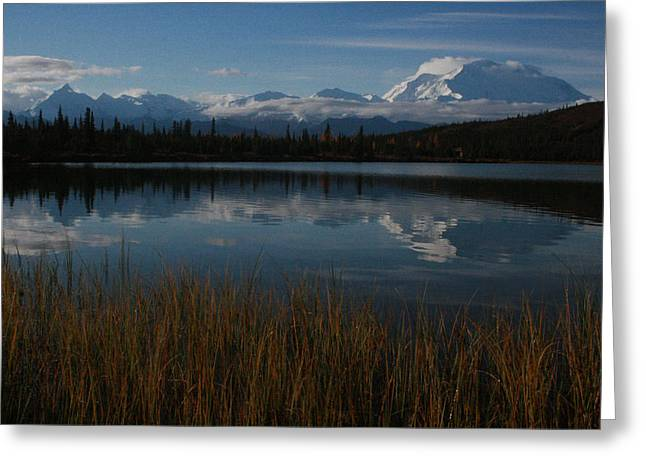 Wonder Lake Denali National Park Greeting Card