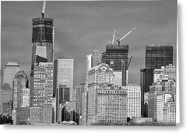 Wtc - New York Greeting Card
