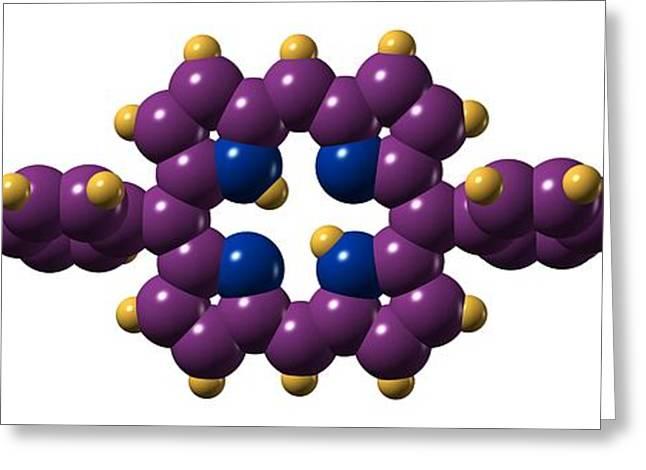 Xf-73 Mrsa Drug Molecule Greeting Card