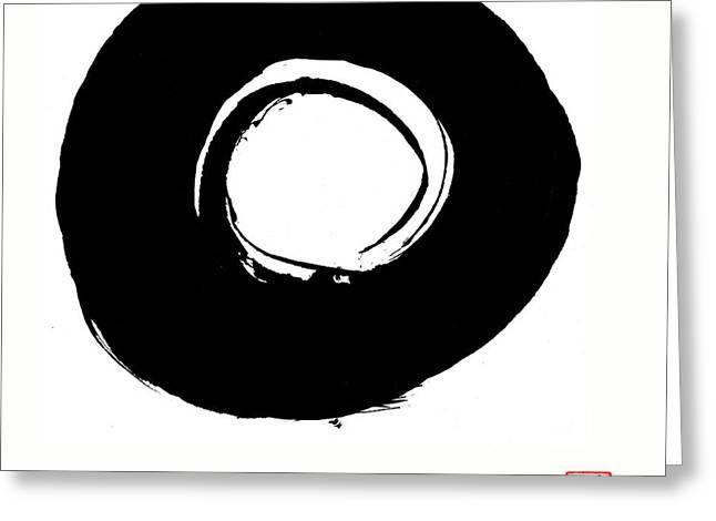 Zen Circle Six Greeting Card