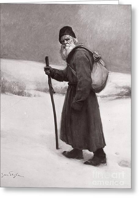 Leo Tolstoy (1828-1910) Greeting Card