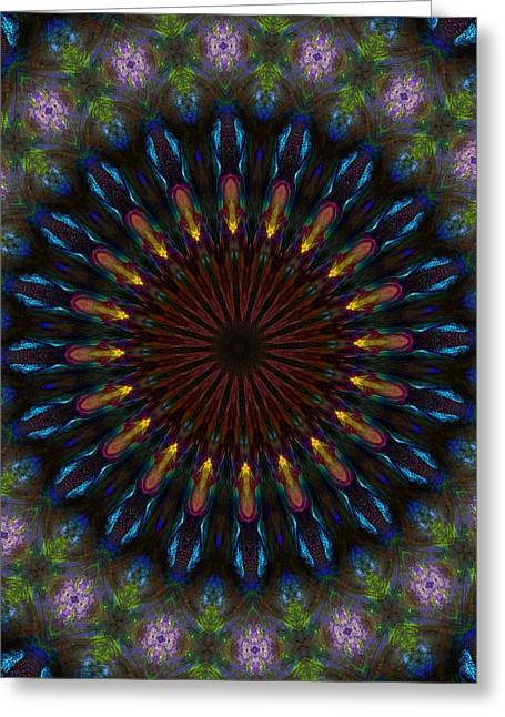 10 Minute Art 120611a Greeting Card by David Lane