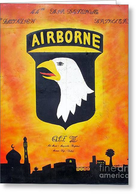101st Airborne - Oif IIi Greeting Card