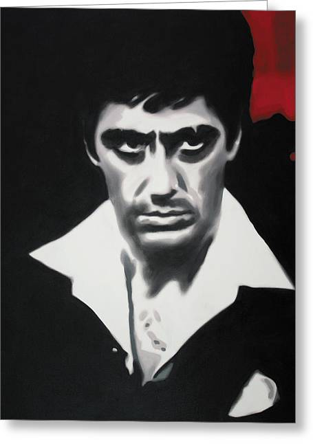 - Scarface - Greeting Card