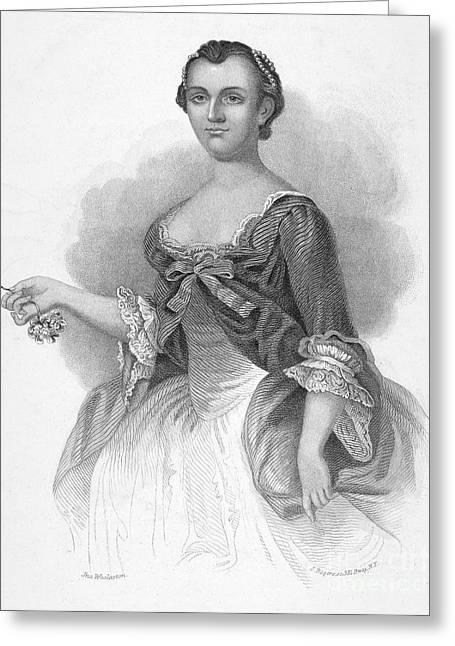Martha Washington Greeting Card