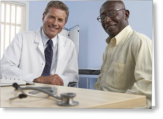 Medical Consultation Greeting Card