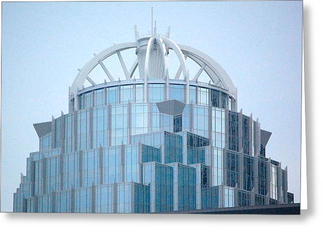 Greeting Card featuring the photograph 111 Huntington Ave - Boston by Mary McAvoy