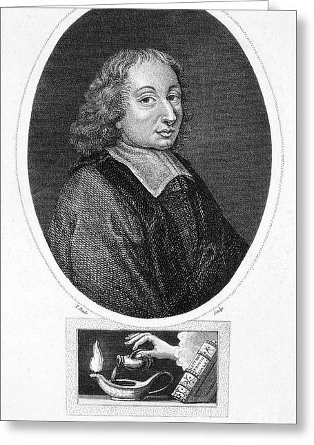 Blaise Pascal (1623-1662) Greeting Card