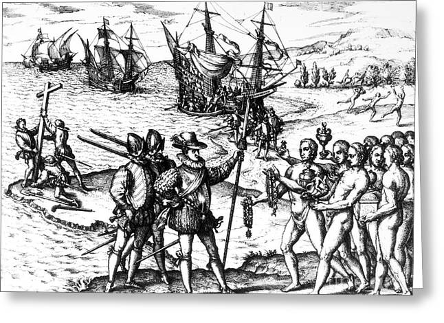 Christopher Columbus Greeting Card