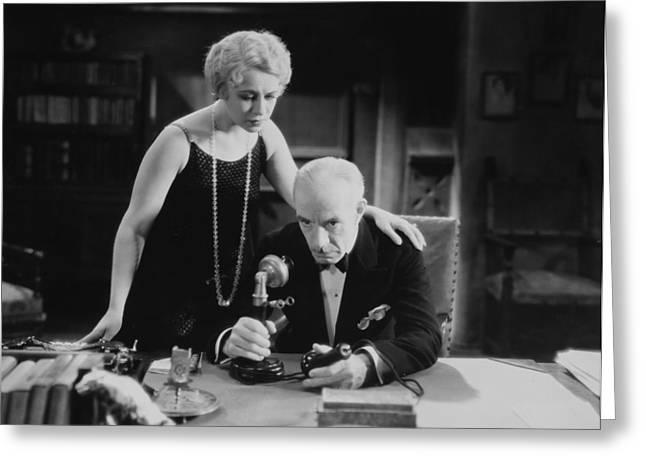 Film Still: Telephones Greeting Card by Granger