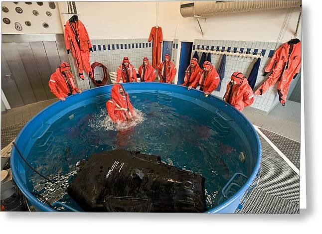 Submarine Rescue Unit Training Greeting Card