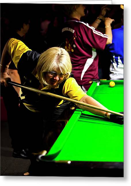Snooker greeting cards page 8 of 11 fine art america australian deaf games 2012 greeting card m4hsunfo