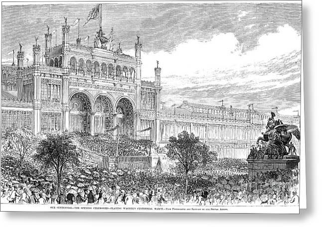 Centennial Fair, 1876 Greeting Card