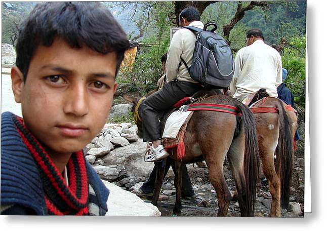 Splendors Of Himalayas Greeting Card by Anand Swaroop Manchiraju
