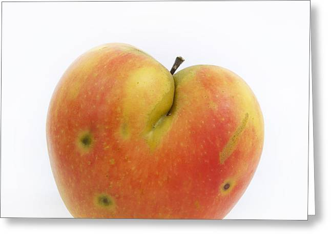 Apple Greeting Card by Bernard Jaubert
