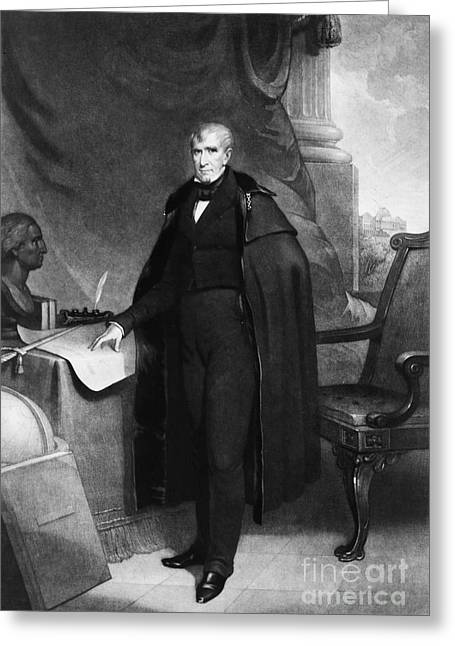 William Henry Harrison Greeting Card by Granger