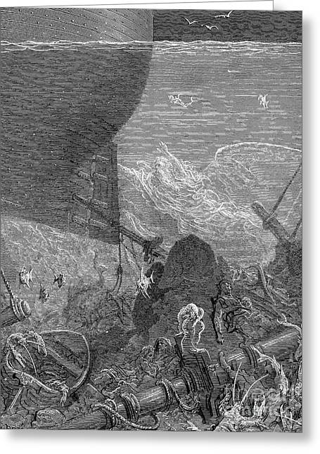 Coleridge: Ancient Mariner Greeting Card by Granger