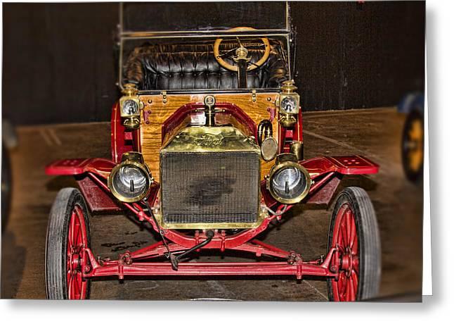 1914 Model-t Ford Greeting Card by Douglas Barnard