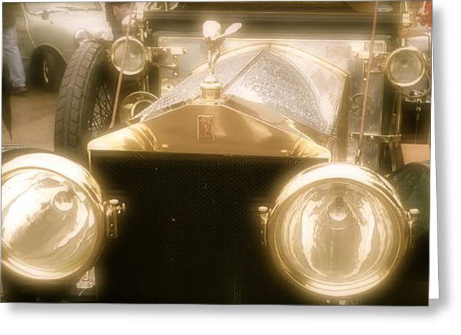 1920s Rolls Royce Detail Greeting Card by John Colley