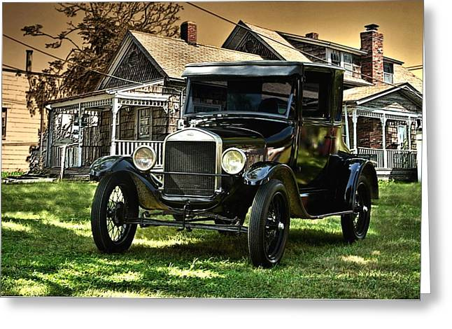 1926 Ford Model T Greeting Card