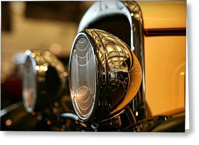 1929 Dodge Desoto Six Roadster Greeting Card