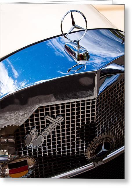 1929 Mercedes Ssk Gazelle Roadster Greeting Card by David Patterson