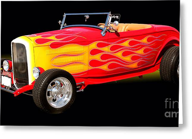 1932 Ford Hotrod Greeting Card by Jim Carrell