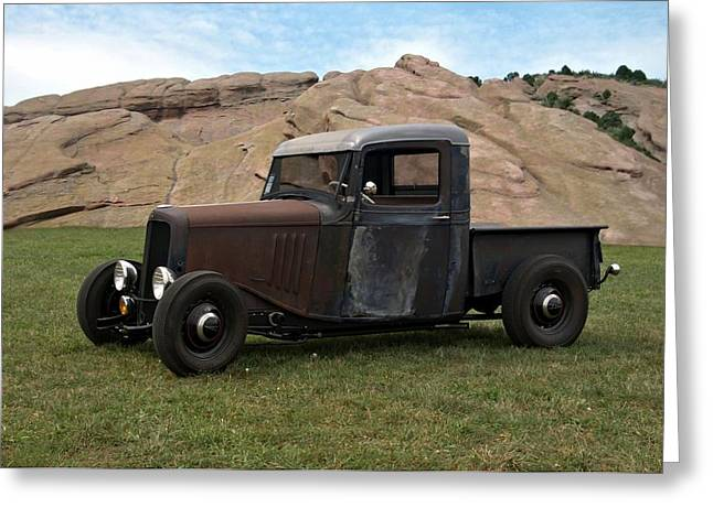 1934 Chevrolet Pickup Greeting Card by Tim McCullough