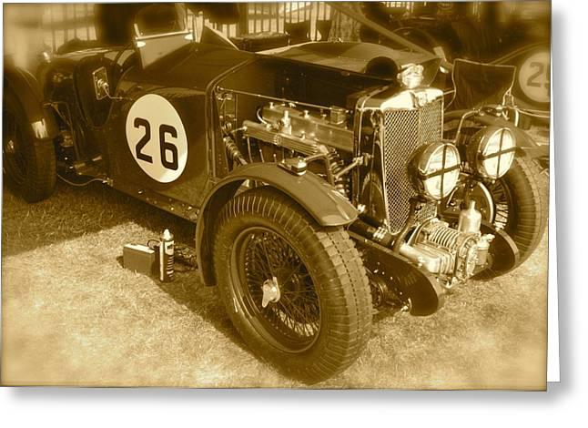 1934 Mg N-type Greeting Card by John Colley