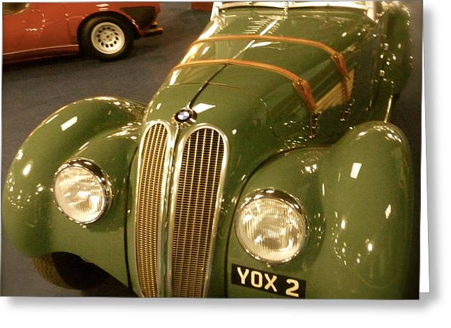 1937 Bmw 328 Greeting Card by John Colley