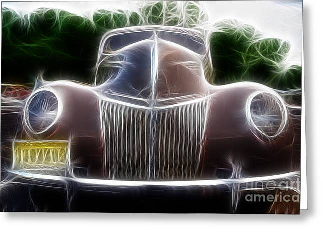1939 Ford Deluxe Greeting Card by Paul Ward