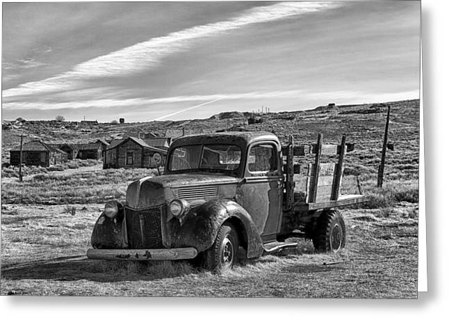 1939 Ford Truck Bodie Ca Greeting Card by Troy Montemayor