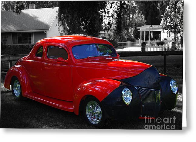 1940 Ford Coupe  Greeting Card