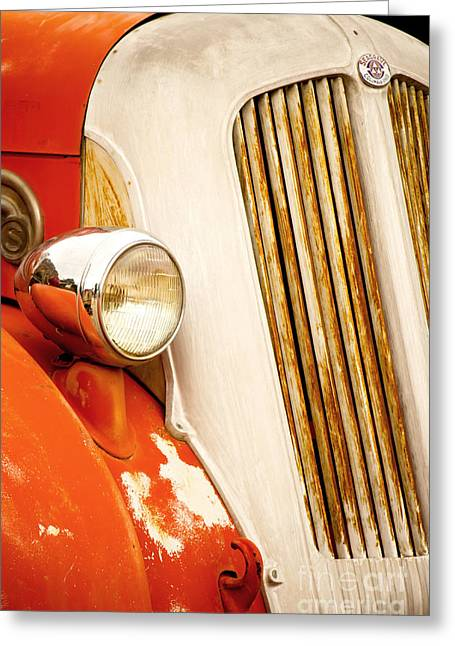 1940's Seagrave Fire Engine Greeting Card