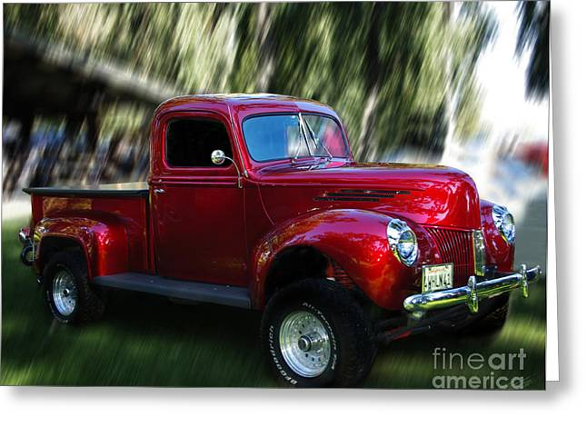1941 Ford Truck Greeting Card by Peter Piatt